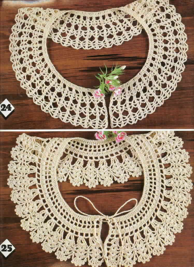 Free Crochet Patterns : Free Crochet Collar Patterns ~ Free Crochet Patterns