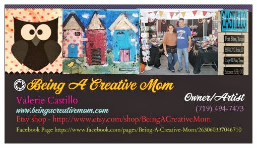 Being A Creative Mom