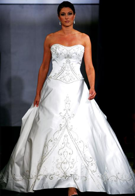strapless-a-line-wedding-dresses