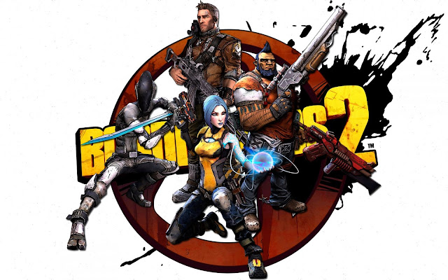 Borderlands 2 Vault Hunters