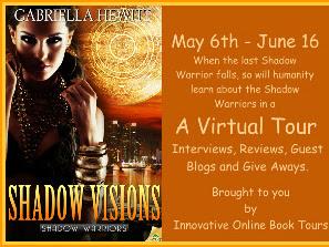 Tour: Shadow Visions by Gabriella Hewitt