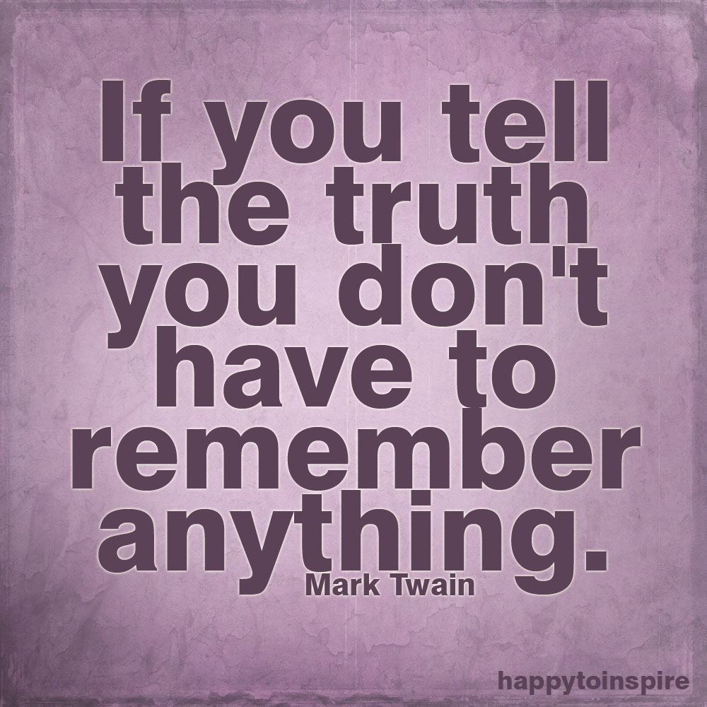 THE TRUTH IS RIGHT IN FRONT OF YOU… AND THE TRUTH SHALL SET YOU FREE