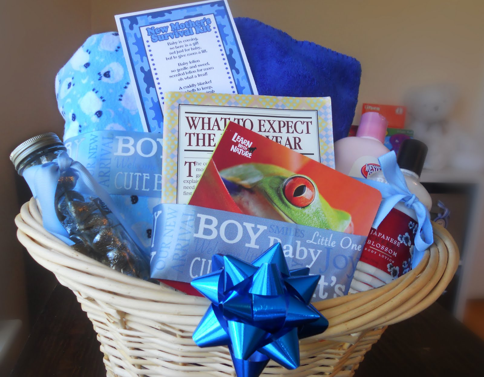 Baby Gift Basket Kit : Baby shower gift survival kit darling doodles