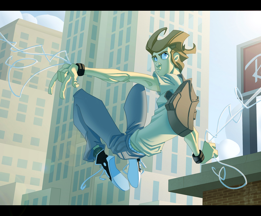 Amazing spider man cartoon peter parker - photo#6