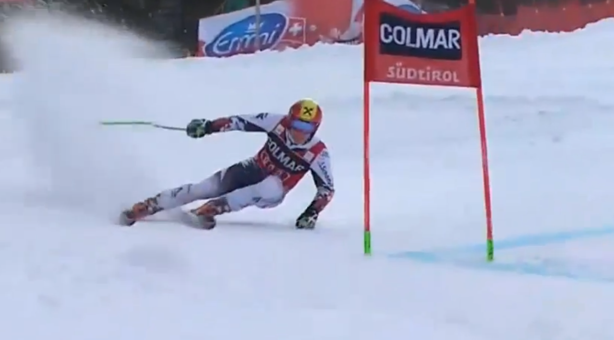 Ski with harald harb hirscher uses techniques