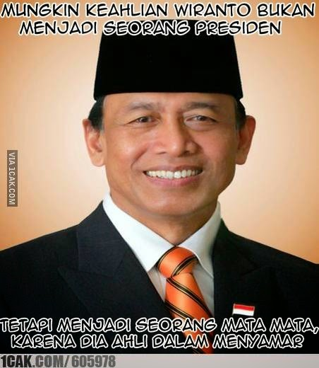 Meme Lucu Wiranto Menyamar 13