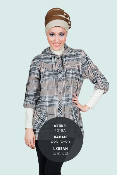 Model Baju poly rayon Cantik Murah Terbaru 1018A