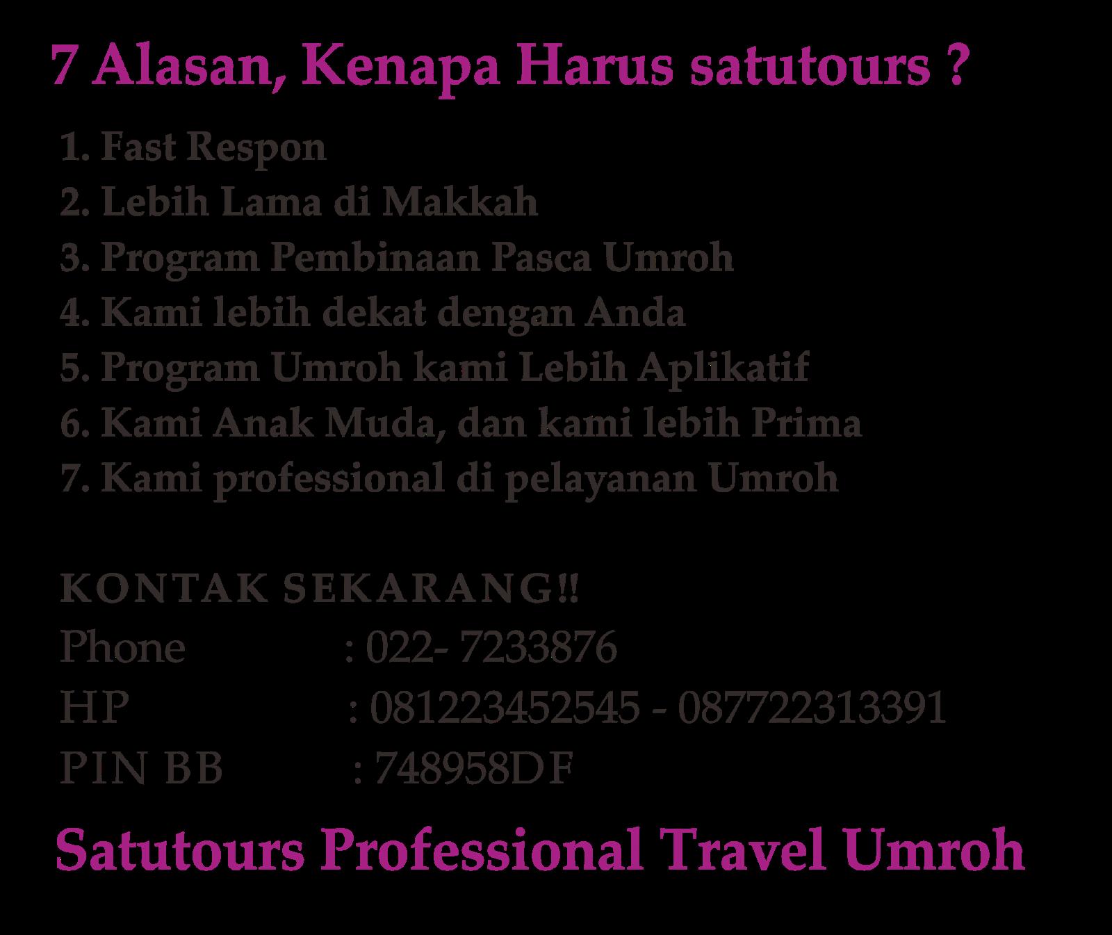 Harga Paket Umroh 2014 Bandung