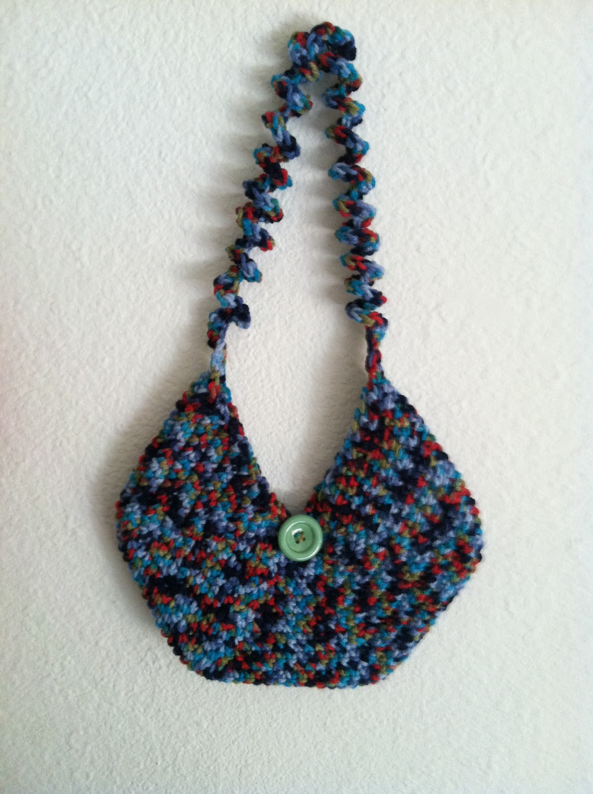 Yarn Bag Pattern : another circular purse, with a slight modification to my last purse ...