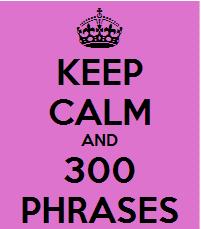 +300 phrases!
