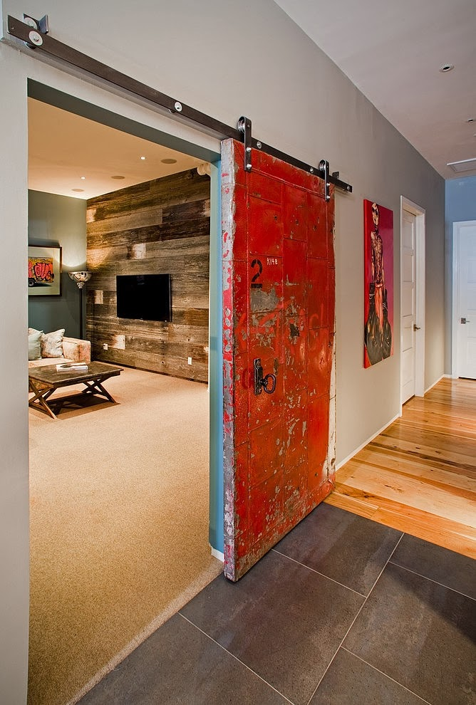 It 39 s amazing how there is a hanging barn door application for Hanging a sliding barn door