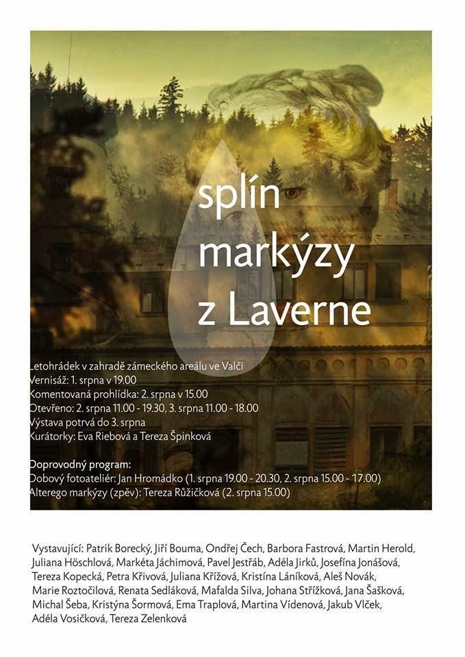 pozvánka na výstavu - Splín markýzy z Laverne