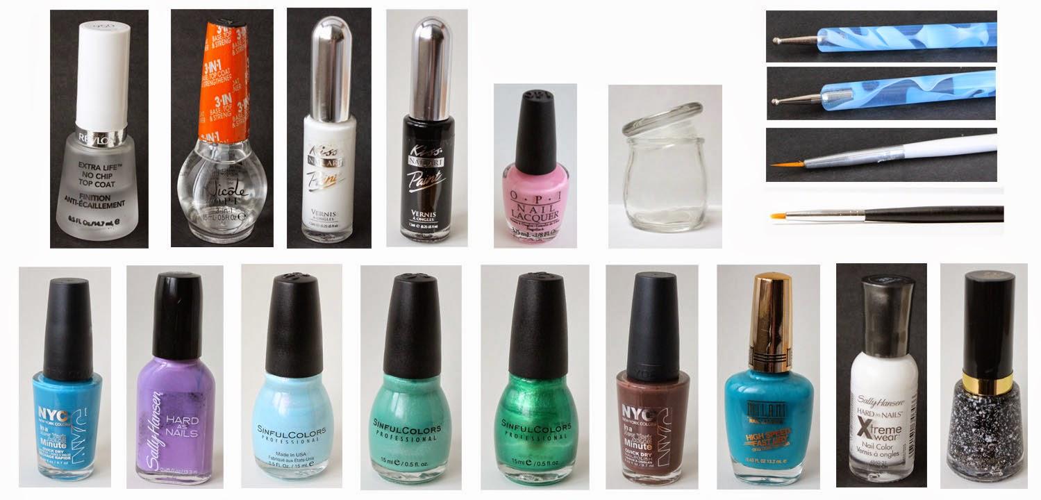 nail polihses and nail tools
