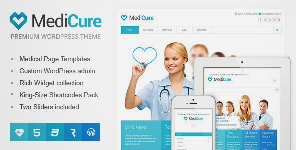 medicure v1.0.7 health and medical wordpress theme