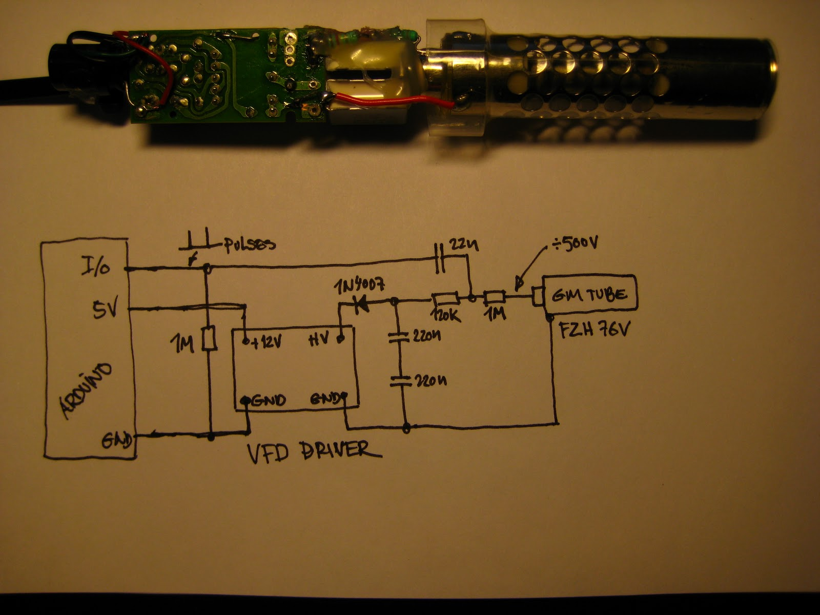 Dzls Evil Genius Lair Geiger Counter From Recycled Stuff Diagram