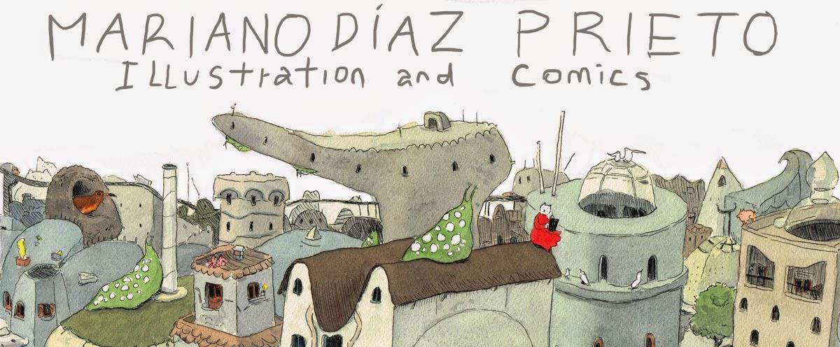 Mariano Diaz Prieto ilustracion