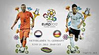 Prediksi Skor Belanda vs Jerman Grup B Euro 2012