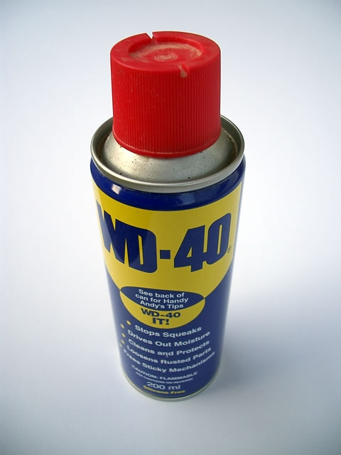Ariftrios Blog WD 40 Do And Dont