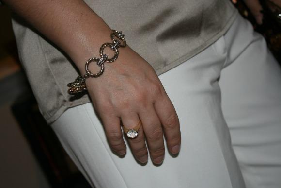 metal hoop bracelet