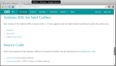 Arduino IDE for Intel Galileo
