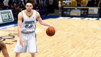 NBA 2K13 Evan Fournier Player Update