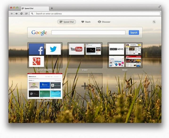 تحميل برنامج اوبرا 2014 مجانا Download Opera Free