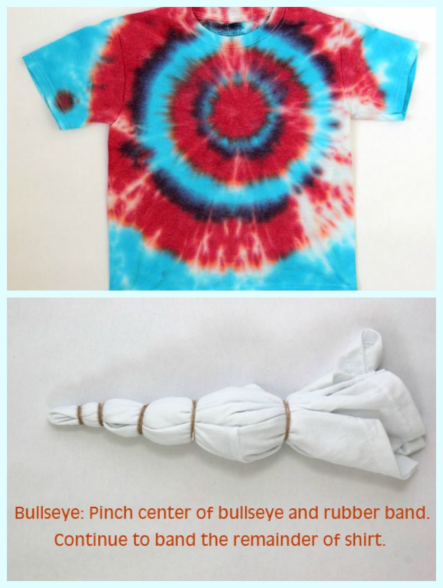 How Tie Dye Shirts Happiness Homemade