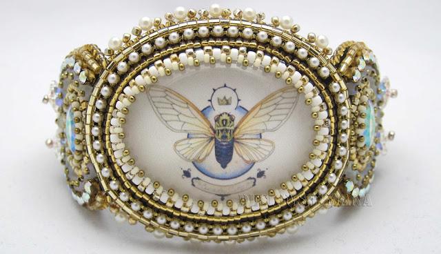 Golden Cicada Bracelet