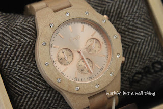 JORD watch #jordwatch SIDNEY Maple Rose Gold Review