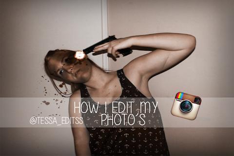 How I edit my photo's ( @Tessa_editss )