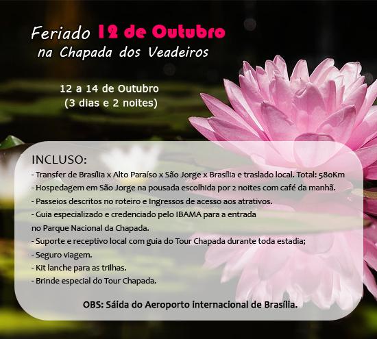 FERIADO 12 DE OUTUBRO 2012 - CHAPADA DOS VEADEIROS