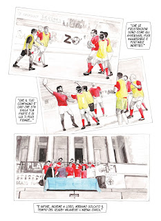 Mud Red Star Rugby di Milano a fumetti in Rugbyland - tavola 2
