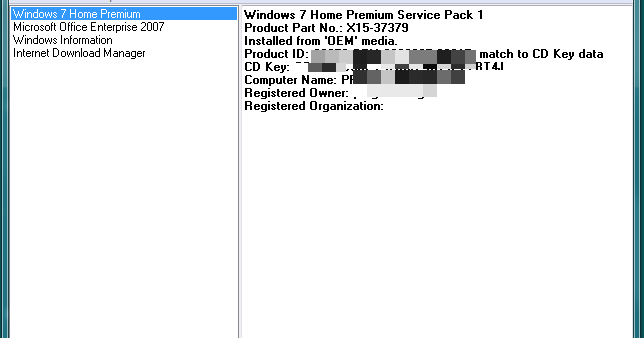 product id match to cd key data