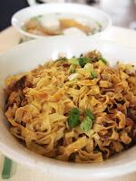Fish ball noodles (mee pok) - Ru Ji Kitchen