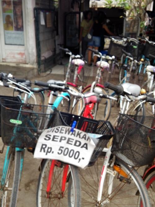 レンタル自転車☆86Rental Bicycle,Sanur