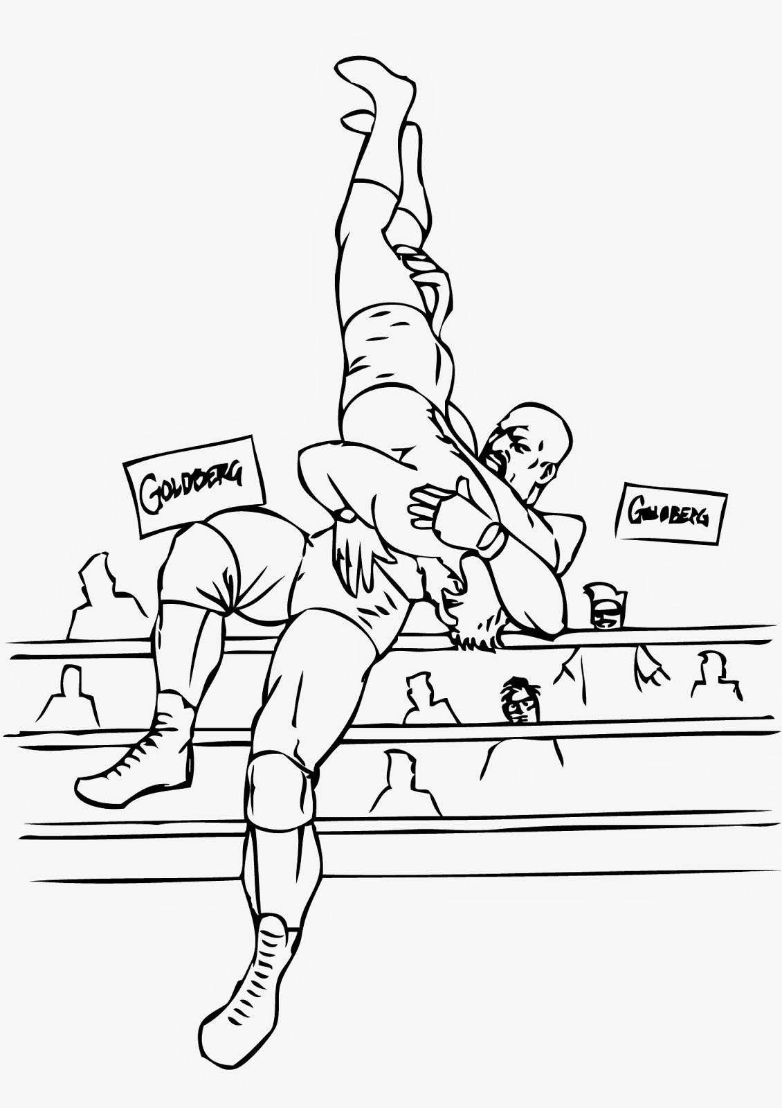 Wwe coloring games online - Wwe Coloring Sheets Is A Part Of Wwe Coloring Pages Pictures Gallery