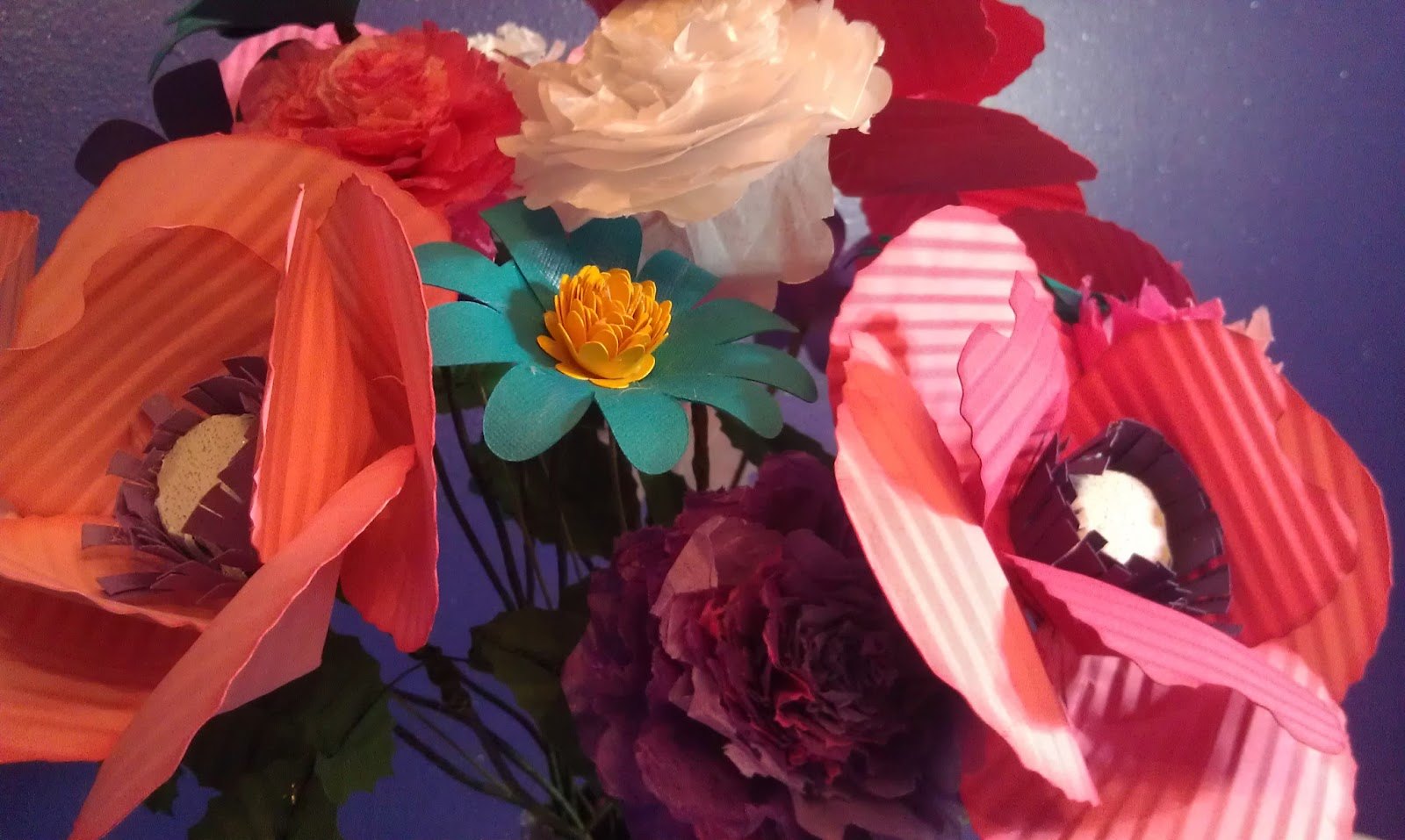Melody Lane Designs Tissue Paper Carnations