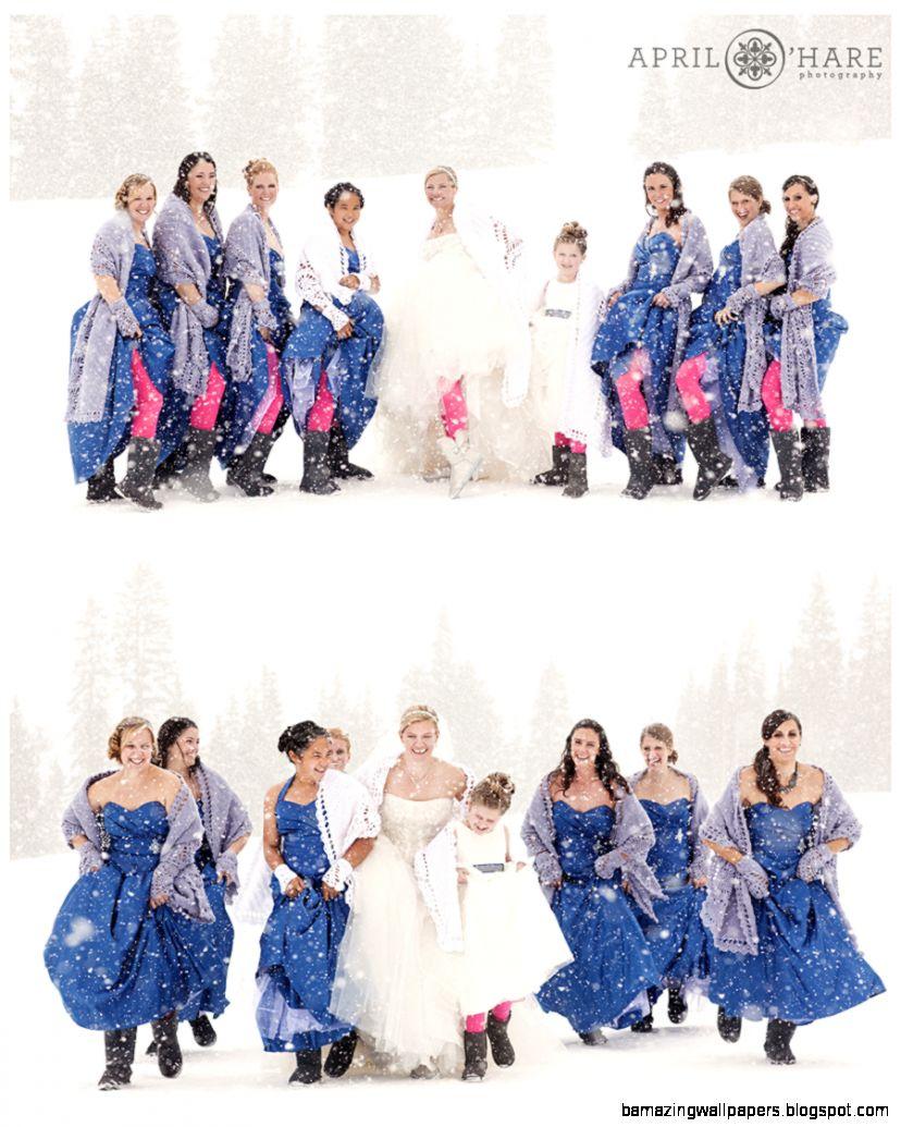 Winter Wonderland Bridesmaids