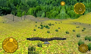 Screenshots of the Wild eagle Survival hunt for Android tablet, phone.