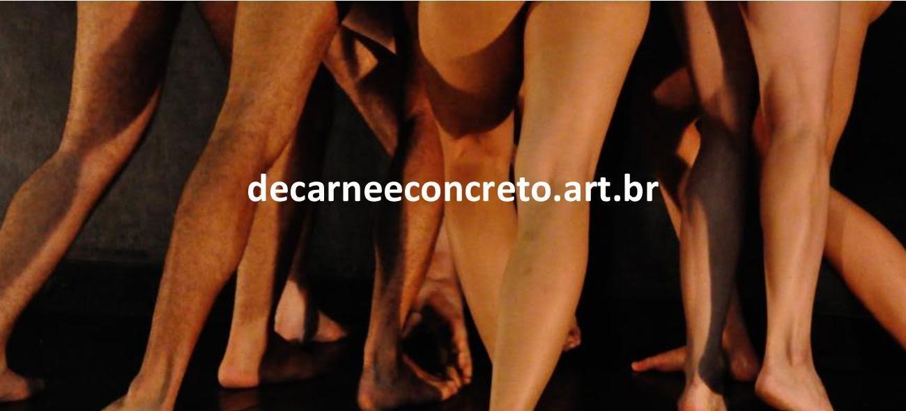 """Visite o site interativo da exposição """"De Carne e Concreto - Uma Instalação Coreográfica"""""""
