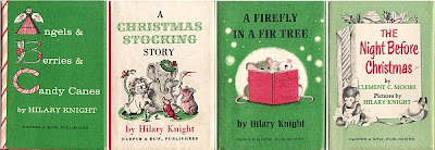 1965 THE BUNNY'S NUTSHELL LIBRARY ROBERT KRAUS TINY 4 BOOK BOX SET ILLUSTRATED