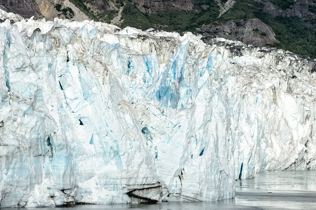 Blue Ice of Margerie Glacier