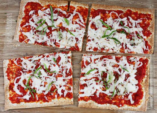 Lavash Flatbread Pizzas | Skinnytaste