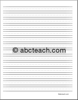 blank creative writing pages