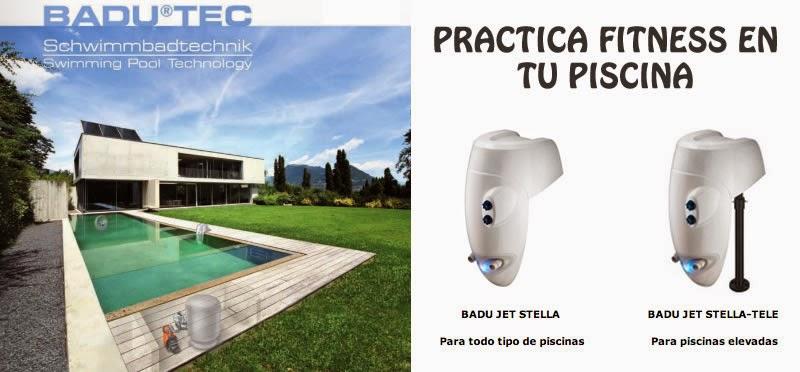 """BADU JET : equipo de natación contracorriente de """"mochila"""" - Guadalajara, Espool Piscinas. Pide más información en info@espoolpiscinas.com"""