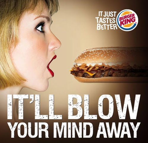 burger king 7 incher advert