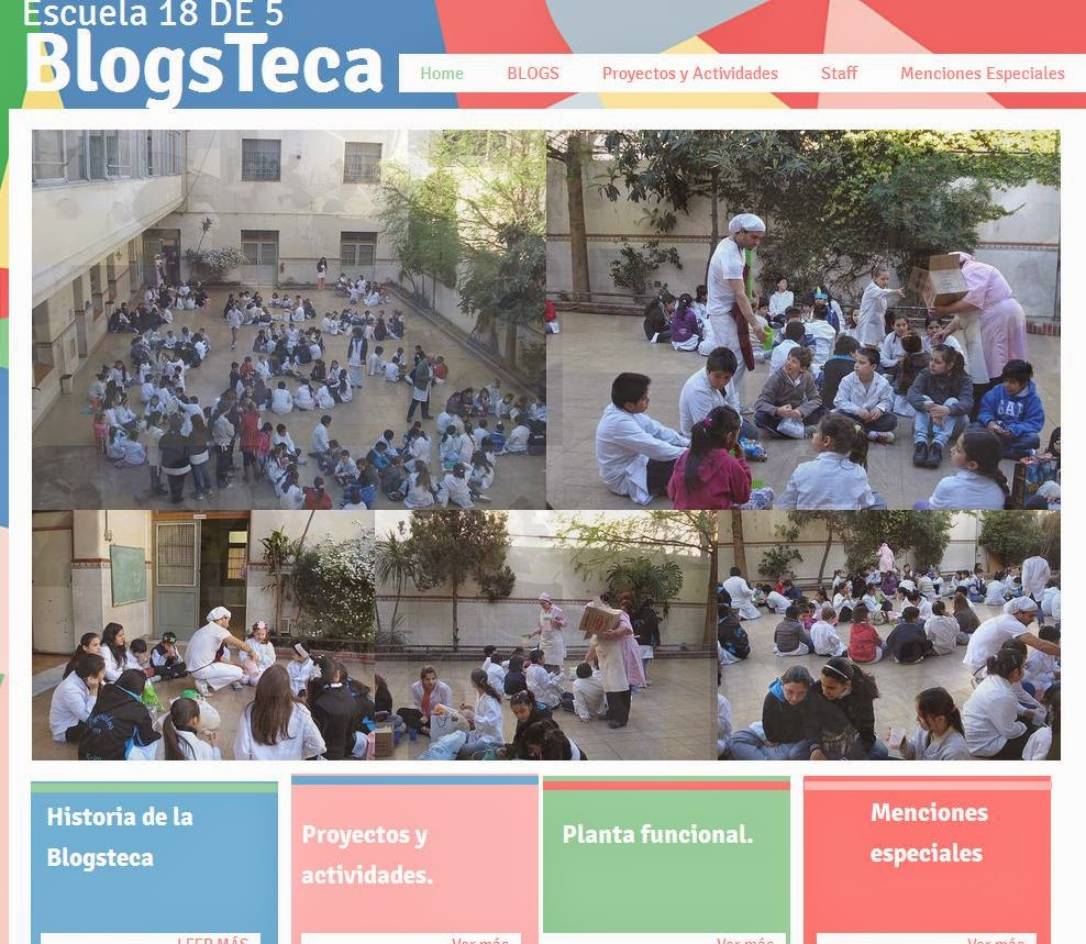 Blogs de la escuela.