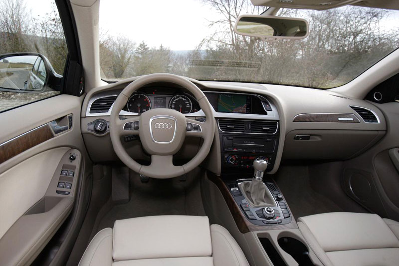 Audi A4 US-Version (2013) - Interior | HD Wallpaper #21