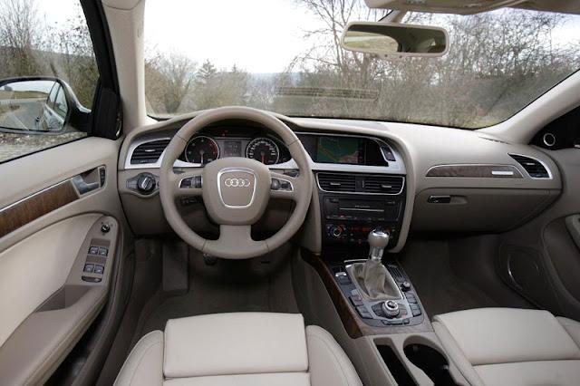 2013 Audi A4 Allroad Quattro Interior Front
