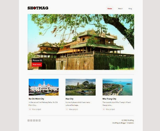 Shotmag Blogger Template